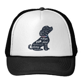 Blue Dog Trucker Hat
