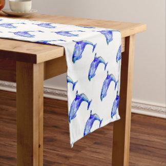 Blue Dolphin Table Runner