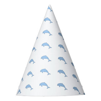 Blue Dolphins Party Supplies Party Hat