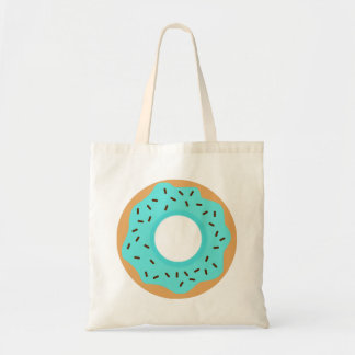 Blue Donut Tote Bag