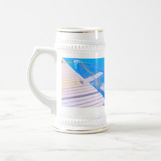 Blue Dory Beer Stein