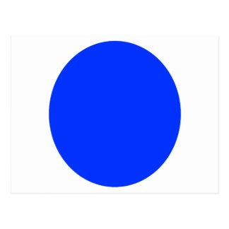 Blue Dot Postcard