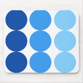BLUE DOTS MOUSE PAD