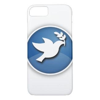 Blue Dove of Peace iPhone 7 Case