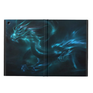 blue dragon abstract cover for iPad air