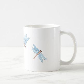 Blue Dragon Fly Mugs