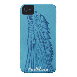 Blue Dragon Head Case-Mate iPhone 4 Case