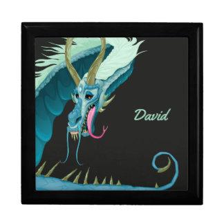 Blue Dragon Keepsake Box