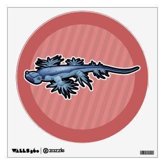 Blue Dragon Sea Slug Nudibranch Wall Sticker