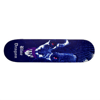 Blue Dragon Skateboard