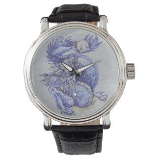 Blue dragon watch