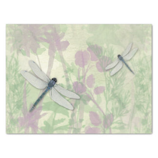 Blue Dragonflies Tissue Paper
