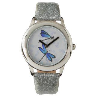 blue dragonflies watch