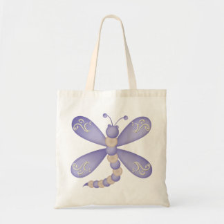 Blue Dragonfly Bag