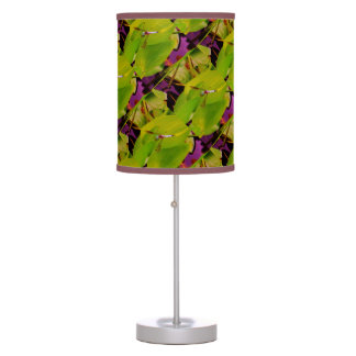 Blue Dragonfly green and purple Desk Lamp