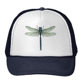 Blue Dragonfly Mesh Hats