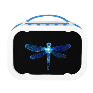 Blue Dragonfly Lunchbox