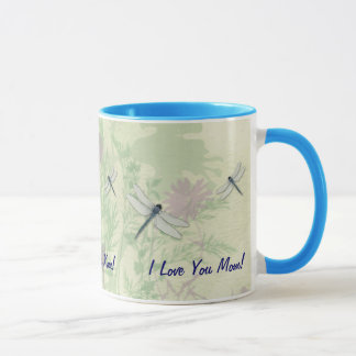 Blue Dragonfly Mother's Day Mug