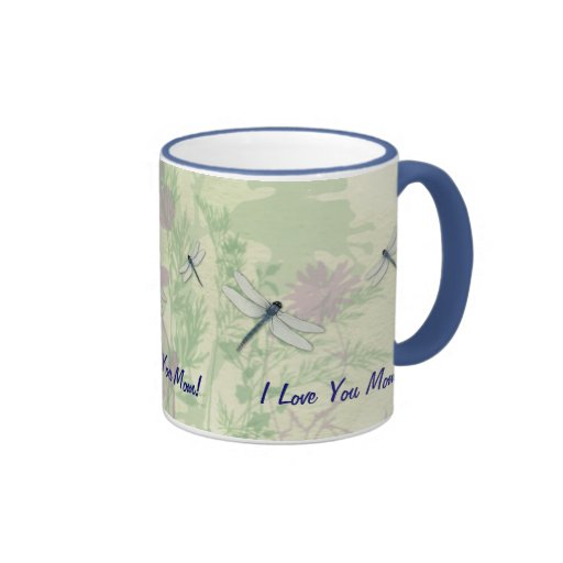 Blue Dragonfly Mother's Day Mug