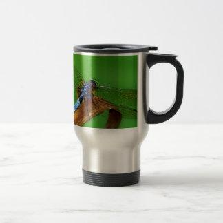 Blue Dragonfly Travel Mug