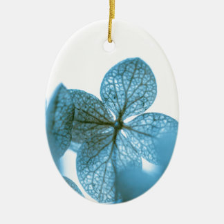 Blue Dream Ceramic Oval Ornament