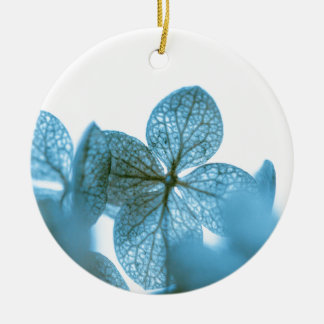 Blue Dream Round Ceramic Ornament