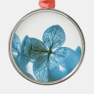 Blue Dream Silver-Colored Round Ornament