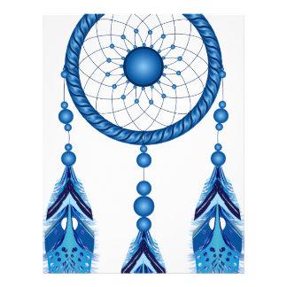 Blue Dreamcatcher Letterhead