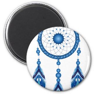 Blue Dreamcatcher Magnet