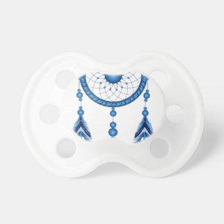 Blue Dreamcatcher Pacifier
