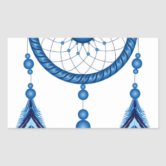 Blue Dreamcatcher Sticker