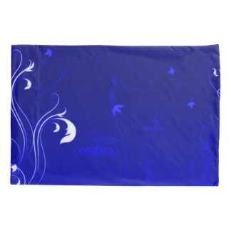 Blue Dreams Abstract Airbrush Art Pillowcase