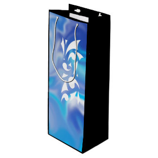 Blue Dreams Gift Bag (Wine Size)