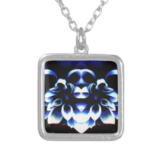 Blue Dreamz Silver Plated Necklace