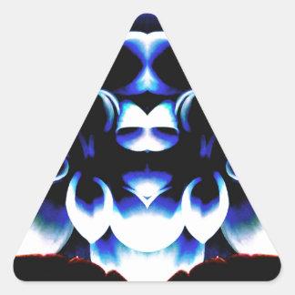 Blue Dreamz Triangle Sticker