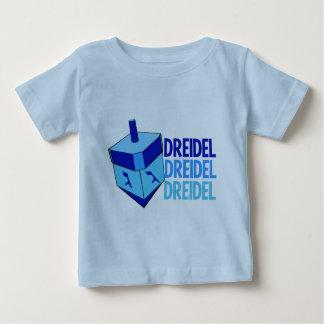 Blue Dreidel Hanukkah Toddler Baby T-Shirt