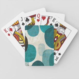 Blue Drips Playing Cards
