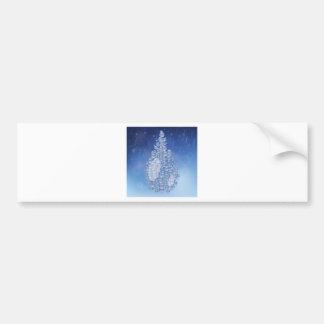 blue drop bumper sticker