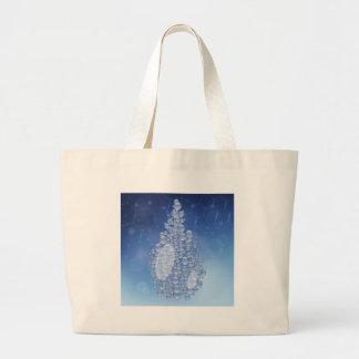 blue drop large tote bag
