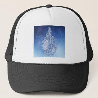 blue drop trucker hat