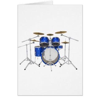 Blue Drum Kit: Card