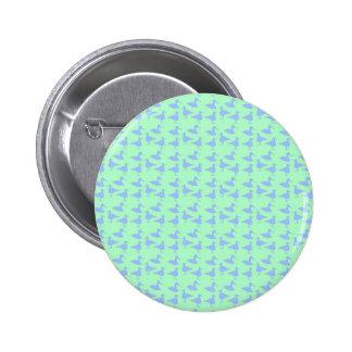 Blue ducks 2 inch round button