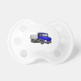 Blue Dump Truck Pacifier
