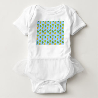 blue durians baby bodysuit