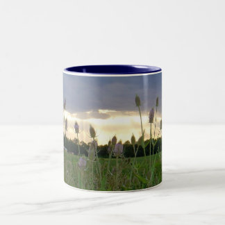Blue Dusk Two-Tone Coffee Mug
