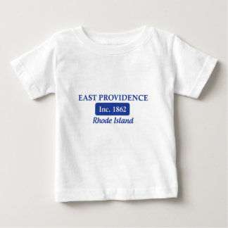 Blue East Providence Rhode Island Baby T-Shirt
