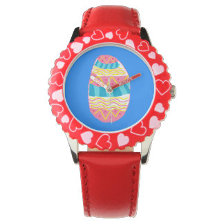 Blue Easter egg  watch
