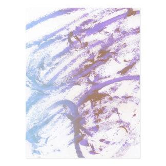Blue Ecstacy Postcard