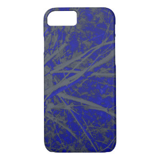 Blue Edge Outline Effects Phone Case