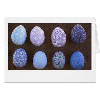 Blue Eggs Card